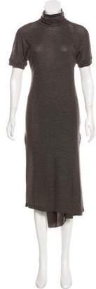 Brunello Cucinelli Short Sleeve Midi Dress