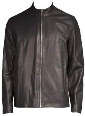 Rag & Bone Zip Front Leather Jacket