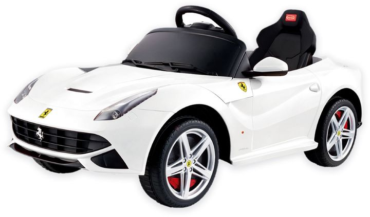 Ferrari Ferrari F-12 Ride-On in White