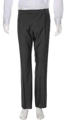 Alexander McQueen Wool & Mohair Pants