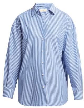 Max Mara Locusta Shirt - Womens - Blue Stripe