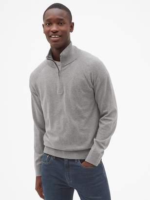 Gap Half-Zip Mockneck Pullover Sweater