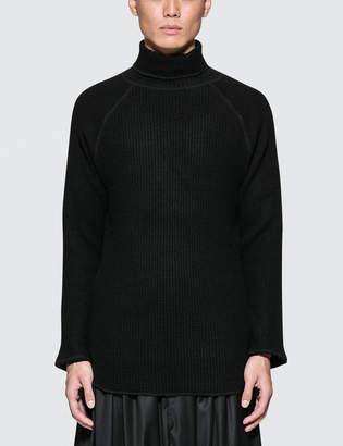 SASQUATCHfabrix. Wool Waffle Turtleneck Sweater