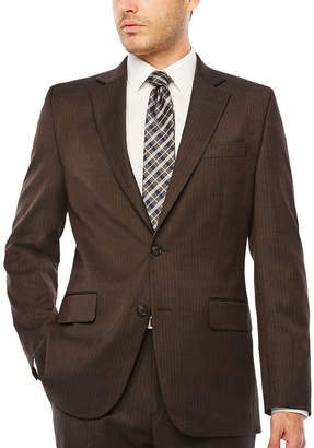 STAFFORD Stafford Striped Classic Fit Stretch Suit Jacket