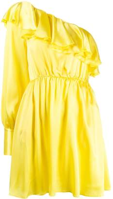 MSGM asymmetric one-sleeve dress