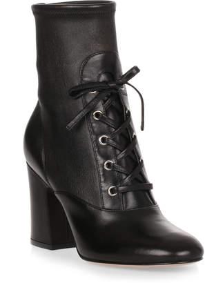 Gianvito Rossi Palmer 85 black leather boot