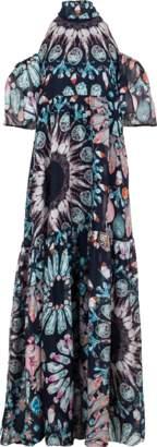 Temperley London Quartz Printed Dress