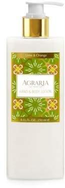 Agraria Lime & Orange Blossoms Hand & Body Lotion/8.45 oz.