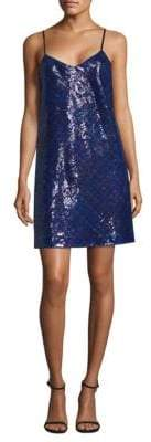 Tommy Hilfiger Tommy Tartan Sequin Slip Dress