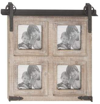 DAY Birger et Mikkelsen Gracie Oaks Waldwick Rustic 4-Opening Square Wall Picture Frame