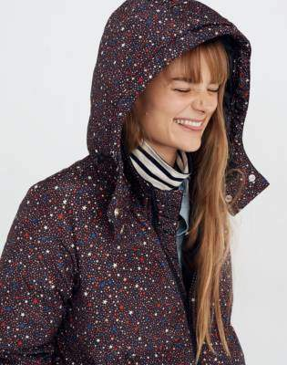 Madewell Quilted Puffer Parka in Starry Night