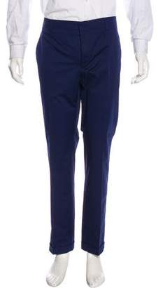 Prada 2016 Flat Front Cuffed Pants w/ Tags