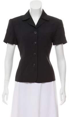 Emporio Armani Short Sleeve Button-Up Jacket