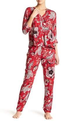 Josie Printed Pajama 2-Piece Set