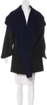 Vince Wool Hooded Coat