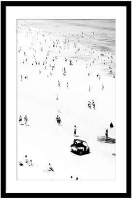 Casa Uno Little Bathers Right Framed Print, 60x90cm