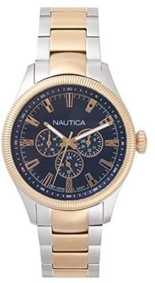 Nautica Men's 'STARBOARD' Quartz Stainless Steel Casual Watch
