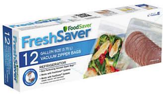 FoodSaver Twelve Gallon Zipper Vacuum Sealer Bags