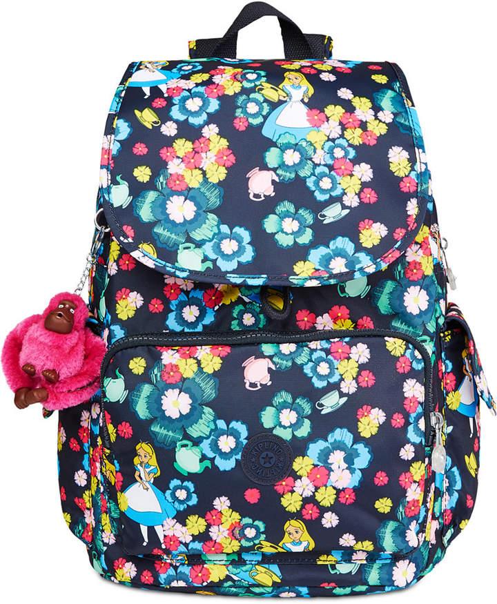 Kipling Disney's Alice in Wonderland City Pack Backpack - TEA ROSE - STYLE