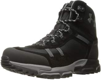 Under Armour Men's Post Canyon Mid Waterproof Hiking Boots, Black/Black