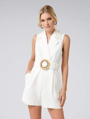 Ever New Cleo Belted Romper