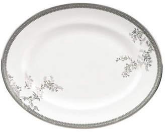 Vera Wang Vera Lace Platinum Oval Platter