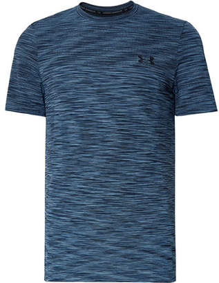 Under Armour Vanish Seamless Space-Dyed HeatGear T-Shirt - Men - Storm blue