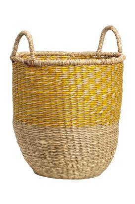 H&M Braided Seagrass Basket
