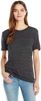 Alternative Women'ss Eco-Heather Short Sleeve Crew Tee