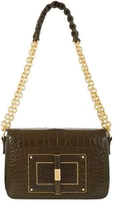 Tom Ford Medium Crocodile Natalia Chain Shoulder Bag