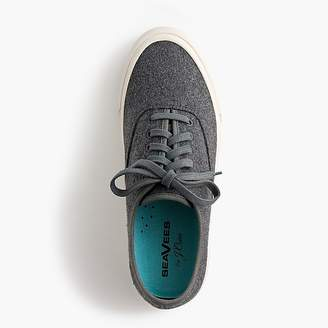 SeaVees for J.Crew Legend sneakers in flannel