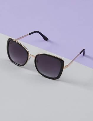 Lane Bryant Tortoiseshell Sunglasses with Metal Bridge