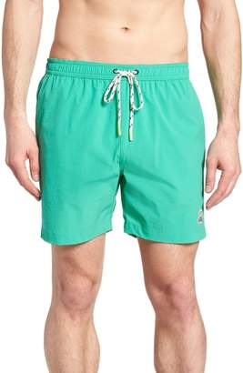 Psycho Bunny Solid Swim Shorts