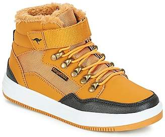 KangaROOS KERRY women's Shoes (High-top Trainers) in Brown