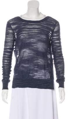 Veronica Beard Lightweight Scoop Neck Sweater