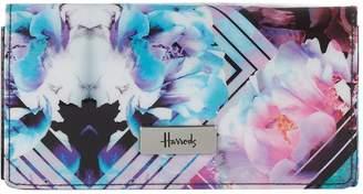 Harrods Geo Floral Long Wallet
