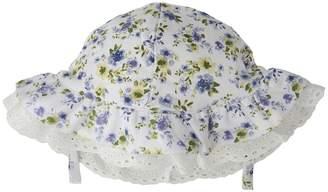 Mud Pie Floral Eyelet Sun Hat Caps
