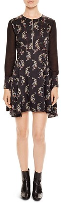 Sandro Kaiya Printed Dress $395 thestylecure.com