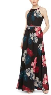 SL Fashions Printed Maxi Dress