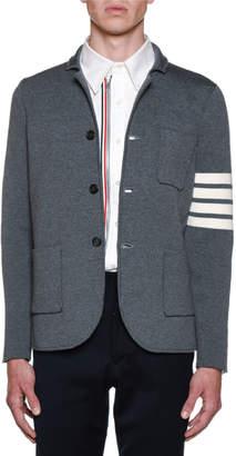 Thom Browne Men's Milano Stitch Single Breasted Sportcoat