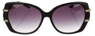 Just Cavalli Embellished Gradient Sunglasses