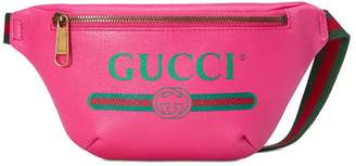 Gucci Print small belt bag