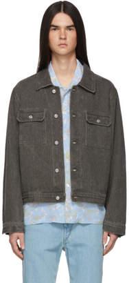 Our Legacy Grey Denim Mono Jacket