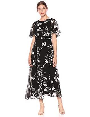 Calvin Klein Women's Maxi Popover Dress with Novelty Trim