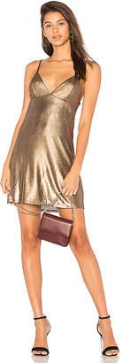 by the way. Madison Metallic Knit Mini Dress