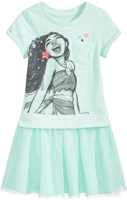 Disney's® Moana Popover Dress, Toddler & Little Girls (2T-6X) $38 thestylecure.com