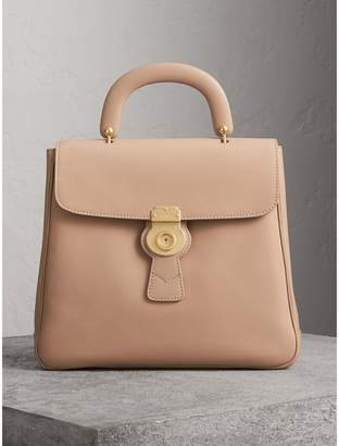 Burberry The Large DK88 Top Handle Bag, Yellow