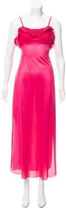 Diane von Furstenberg Ruffle-Trimmed Maxi Dress