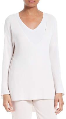 ATM Anthony Thomas Melillo V-Neck Sweater $375 thestylecure.com