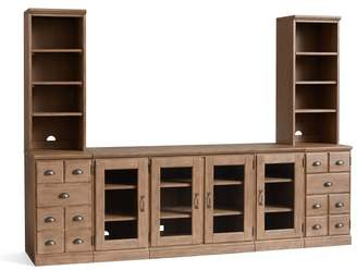 Pottery Barn Printer's Large Media Suite with Cabinets
